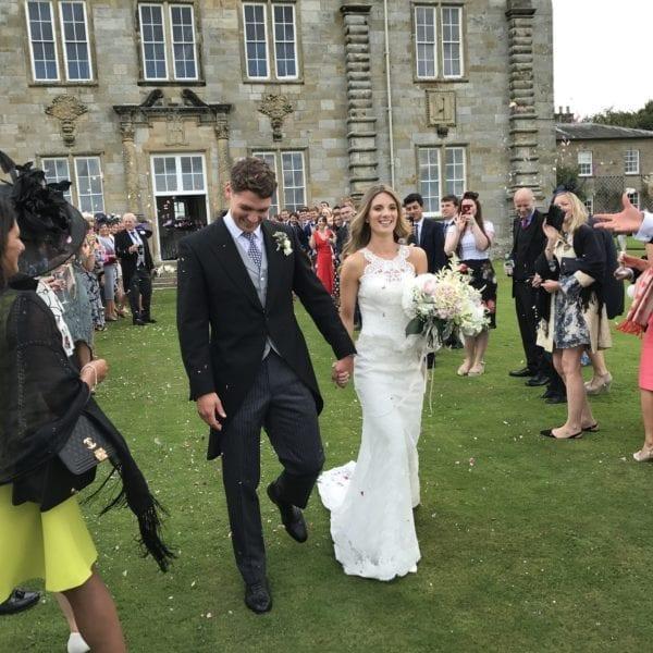 Weddings in Northumberland, England